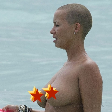 amber rose beach photos. Tags: Amber Rose, fabolous,